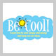 Subject: Be Cool Logo; Location: n/a; Date: July 2005; Designer: Carrie Scherpelz