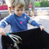 Subject: EnAct Composting Demonstration; Location: Dane County Farmer's Market, Madison, WI; Date: August 2004; Photographer: Sonya Newenhouse